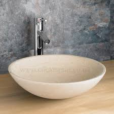 wide basin bathroom sink 60cm alta one door vanity cabinet and galala round basin