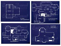 halliwell manor house and house layouts