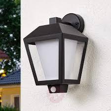 led outdoor wall light keralyn with motion sensor lights co uk