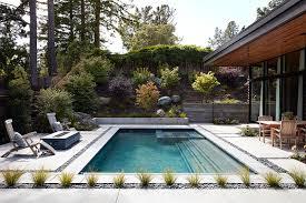 Tiny Pool House Glass Wall House Custom Design Meets Eichler Inspired Modern Flair