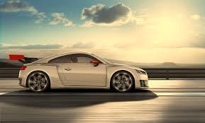 audi tt electric audi electrifies the track with electric biturbo tt clubsport