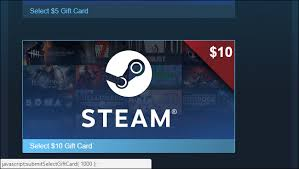 gift cards for steam how to send a steam digital gift card in any amount