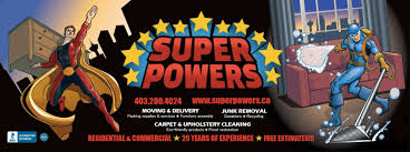 moving carpet cleaning and junk removal super heroes super powers