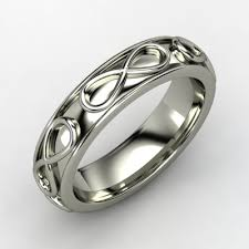 Infinity Wedding Rings by Infinity Wedding Band