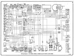 Honda Cr 125 Wiring Diagram Cx500 Wiring Diagram General Cx500 Cx650 Gl500 Gl650 Ns750