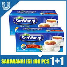 Teh Sariwangi 1 Karton sariwangi teh asli 50 teh celup daftar harga terkini dan