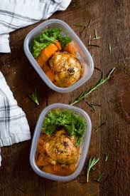 healthy thanksgiving sweet potato recipes slow cooker chicken and sweet potato meal prep primavera kitchen
