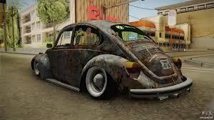 rusty car volkswagen beetle rusty for gta san andreas