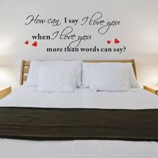 love decorations for the home i love you romantic love wall decal quotes home decorations living