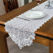 lace table runners wedding high quality wedding white lace table runner decoration 2017 wedding
