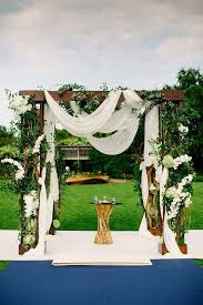 wedding arch greenery 36 wood wedding arches arbors and altars weddingomania