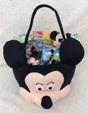 mickey mouse easter basket mickey mouse basket ebay