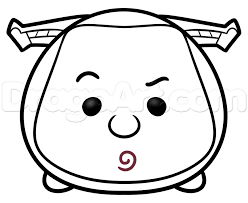awesome drawing kitty colouring pages 10 tsum tsum black