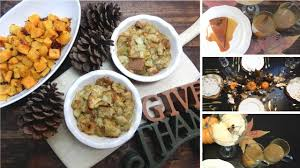 thanksgiving dinner ideas easy simple side dishes desserts