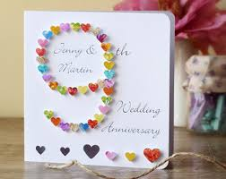 9th anniversary gift ideas ninth anniversary etsy