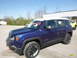 jeep renegade blue 2017 jetset blue jeep renegade trailhawk 4x4 120155348 gtcarlot