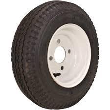 Walmart Trailer Tires 2 Pack Trailer Wheel U0026 Tire 420 St205 75d15 205 75 D 15