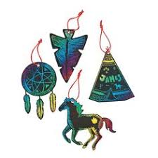 ornament ideas american indian buckskin spirit buffalo