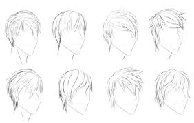 spiky anime hairstyles boy hairstyles