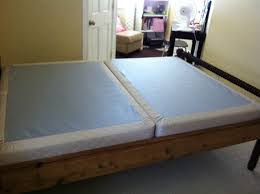 split full size box spring or foundation