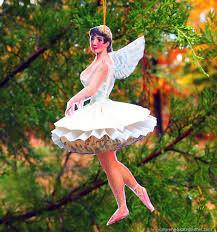 brag monday graphic cabinet ballerina ornament the