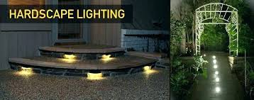 Landscaping Light Kits Led Low Voltage Landscape Lights Kits Three Bulbs Of Outdoor
