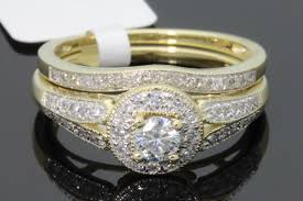 real diamond engagement rings 10k yellow gold 48 carat womens real diamond engagement ring