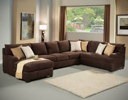 Large Brown Sectional Sofa The Trendiest Large Sectional Sofas With Chaise Brown