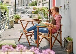 balkon tische balkonmöbel tische stühle liegen living at home