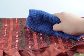 blutflecken entfernen sofa getrocknete blutflecken aus der entfernen wikihow