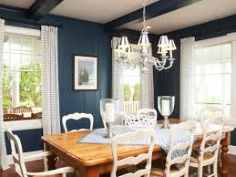 Country Style Dining Table And Chairs Top Blue Country Style Dining Room Blue Wall Paneling And Ceiling
