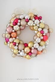 martha stewart ornament wreath diy ornaments easy