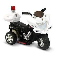 power wheels for girls kid motorz junior police motorcycle battery powered riding toy