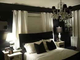 Bedroom Decorating Ideas Black And White Bedroom Design Black White Pink Colors House Decor Picture