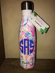 lilly pulitzer starbucks s u0027well fresh squeezed peach water bottle
