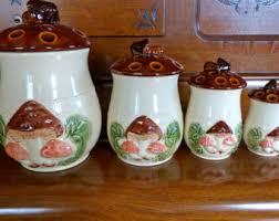 ceramic kitchen canister ceramic kitchen canisters etsy