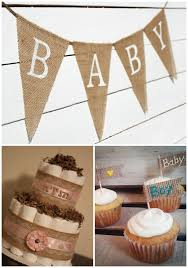 baby shower decorations burlap baby shower decorations rustic baby chic