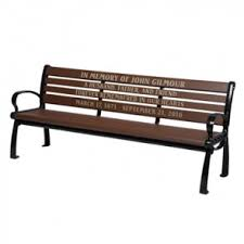 memorial benches engraved memorial benches personalized park benches for sale