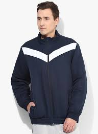 cost effective mens reebok athletic navy blue bomber jacket navy