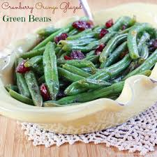 cranberry orange glazed green beans recipe healthy vegetable