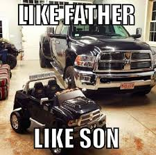 Father And Son Meme - like father like son truck meme oh my my future children