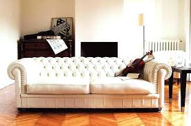 White Leather Tufted Sofa White Tufted Leather Sofa Tufted White Leather Sofa 5