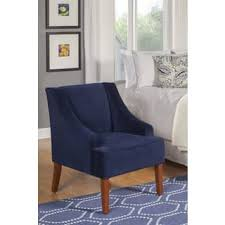 Navy Blue Accent Chair Accent Chairs Blue Living Room Chairs Shop The Best Deals For