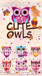 keyboard themes for android free download cute owls emoji keyboard theme android app free download in apk