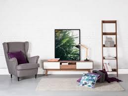 Meuble Tv Taupe Design by Meuble Tv Meuble De Rangement Blanc Marron Eerie