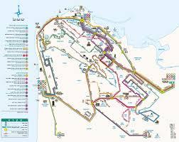 Israel World Map by Haifa Tourist Map