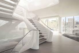 zaha hadid interior sleek renderings show what it s like to live in zaha hadid s