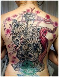 45 traditional geisha tattoo that inspire your artistic side