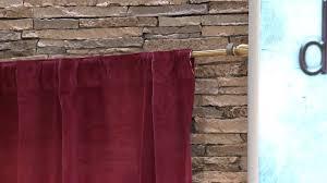 Velvet Curtains Dennis Basso Matte Velvet Curtains 62