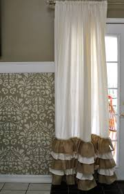 Burlap Window Treatments 180 Best Cortinas Images On Pinterest Curtains Diy Curtains And